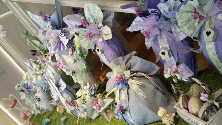 Le vetrine di Pasqua